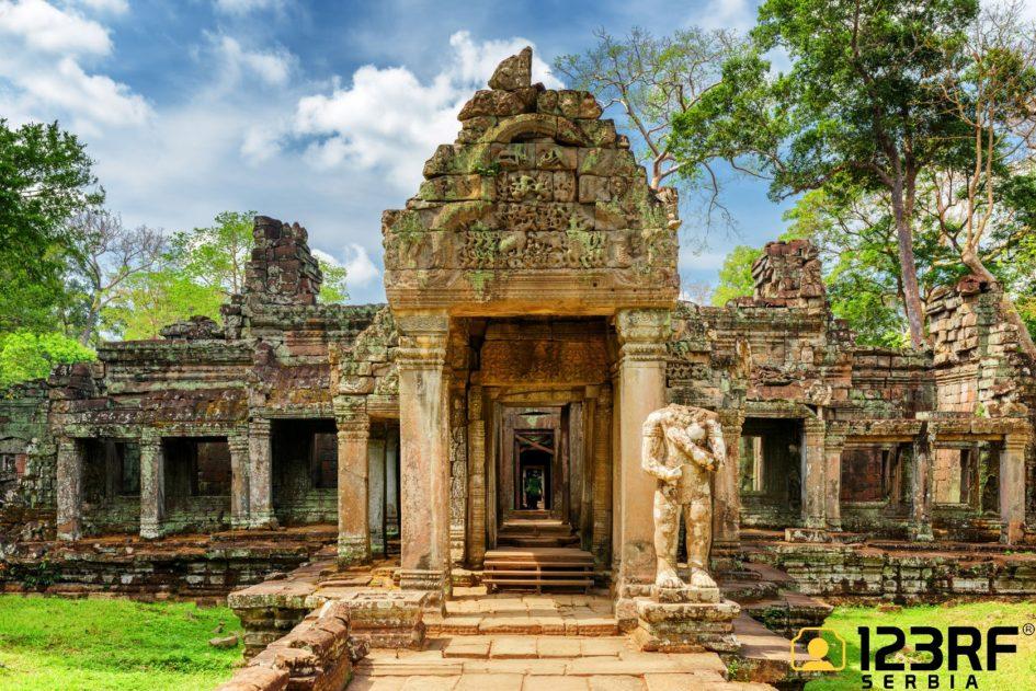 Angkor Wat 123RF stock fotografija